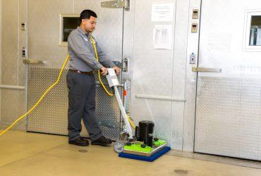 "Tomcat Edge ISO ""Stick"" surface preparation machine."