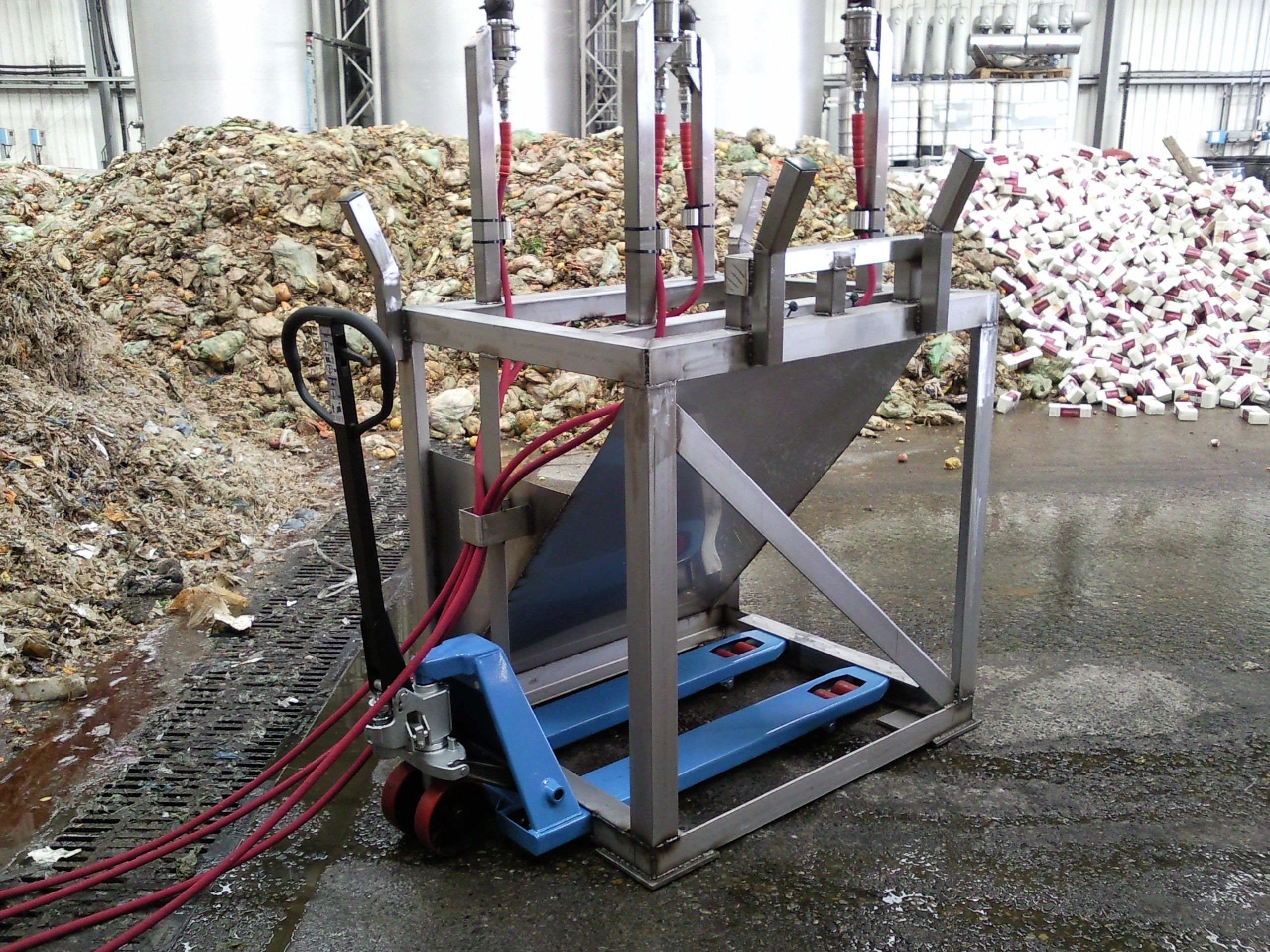 Automatic Drum Cleaning Pressure Washers Clean Machine