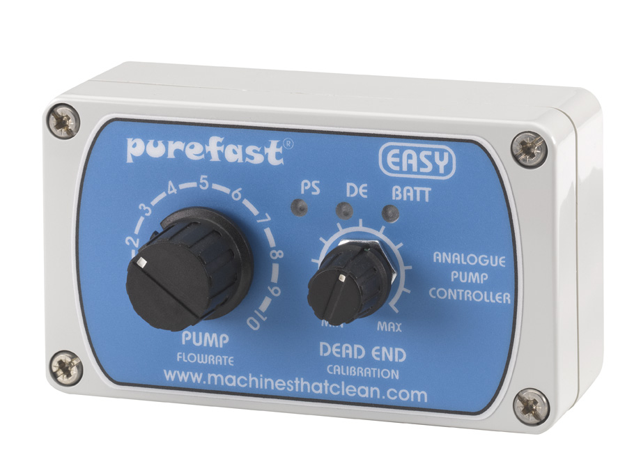 Purefast Analogue Pump Controller 12 Volt Clean Machine