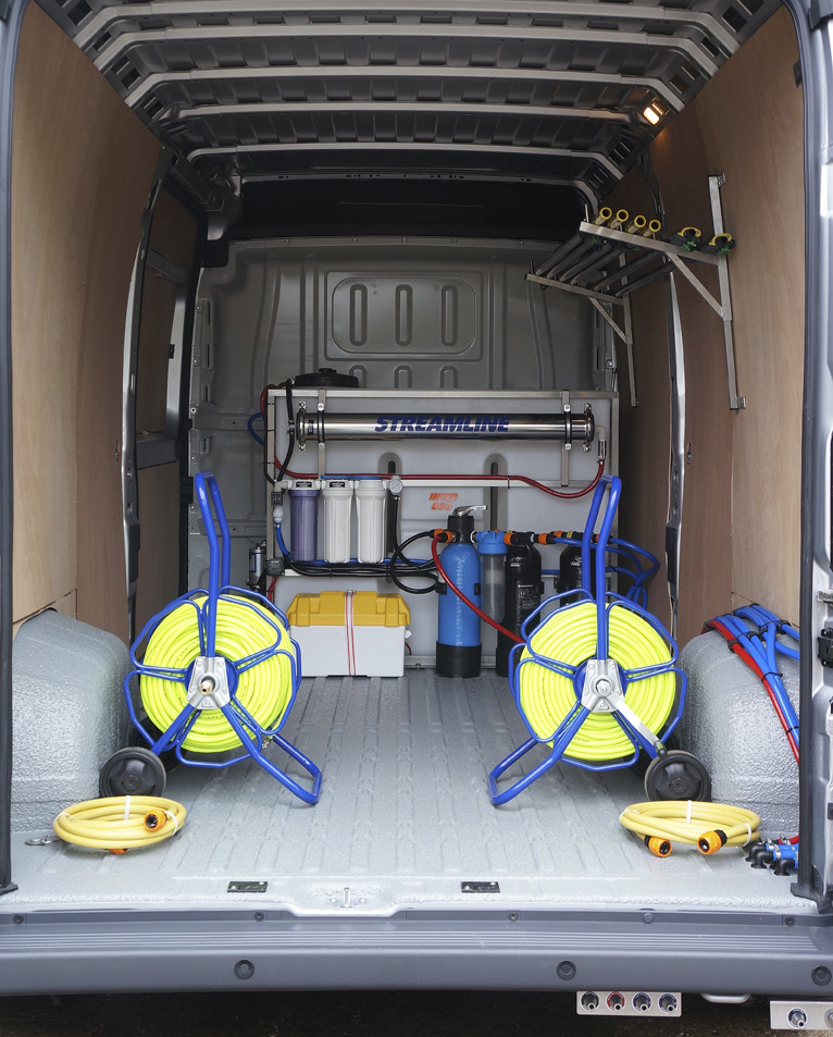 Van Mounted Cold and Hot Water Pressure Washers