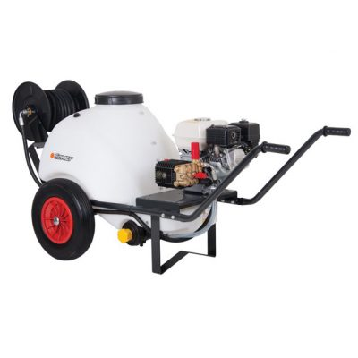 Wheelbarrow Bowser Mounted 8/150 Cold Water Mobile Pressure Washer