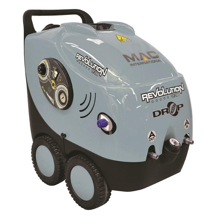 MAC Drop Revolution Hot Water 240v Mobile Pressure Washer