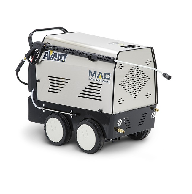 MAC Avant 12/100 Hot Water Mobile Pressure Washer