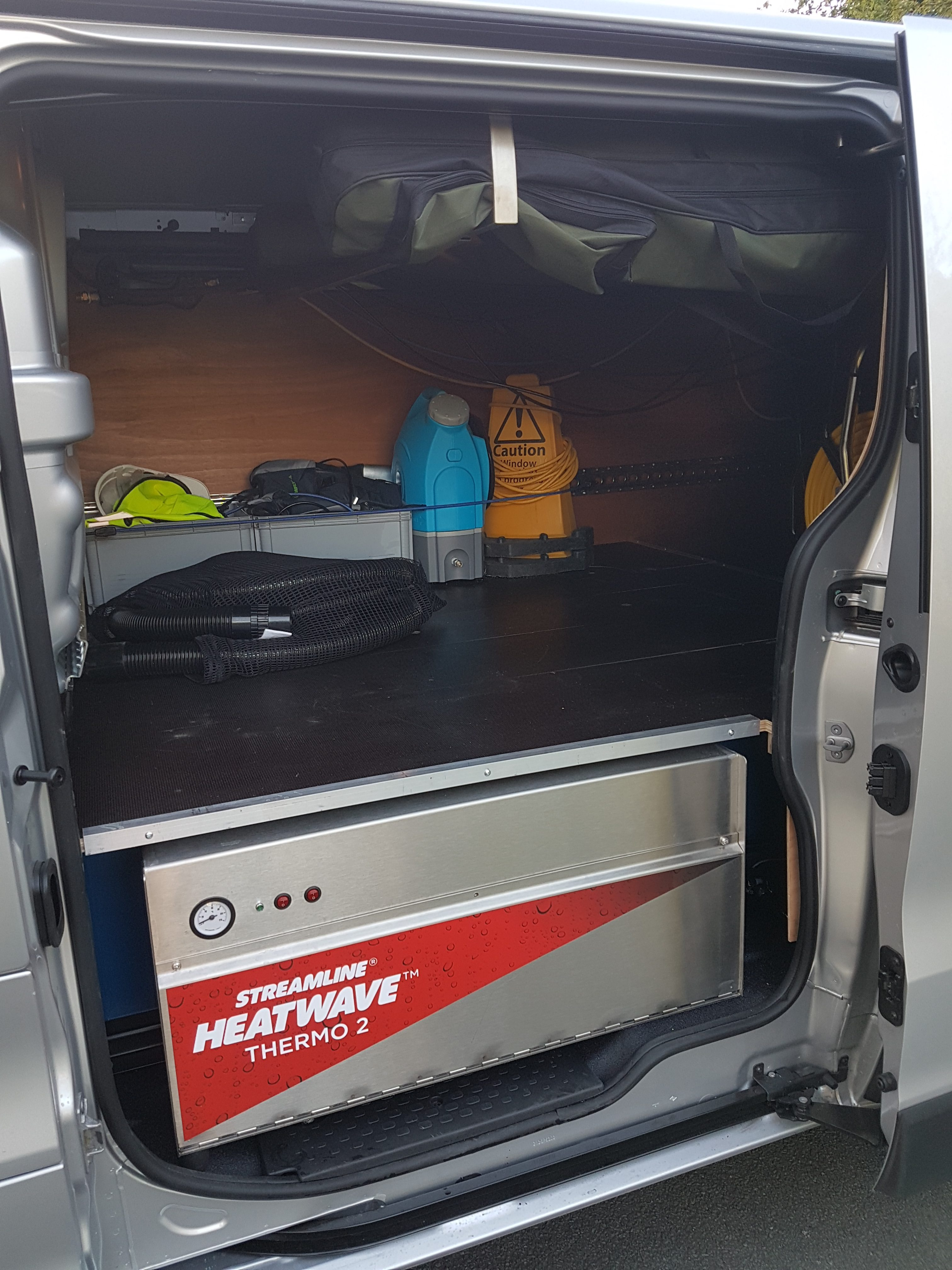 Renault Trafic Sport Fully Fitted Out Window Cleaning Van Package