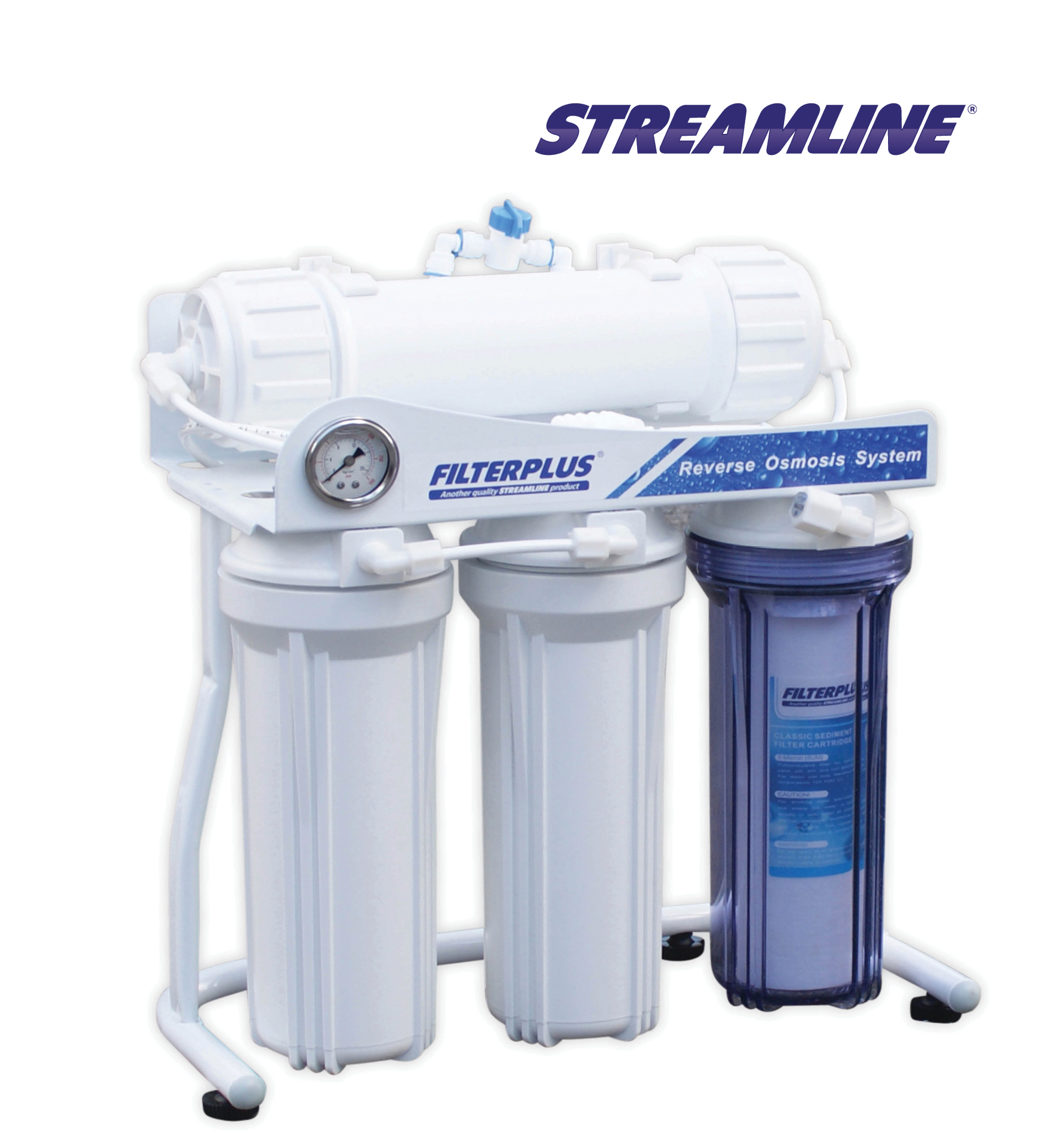Streamline 300 GPD – F Filterplus Direct Flow R.O. System