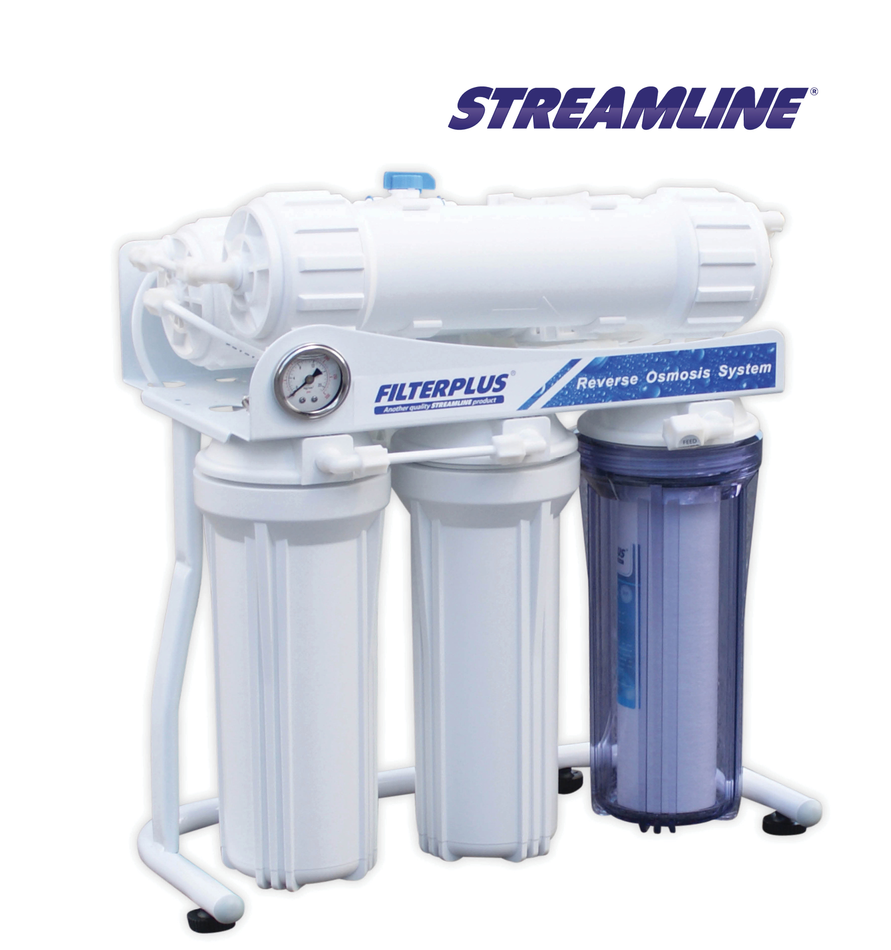 Streamline 600 GPD -F Filterplus Direct Flow R.O. System
