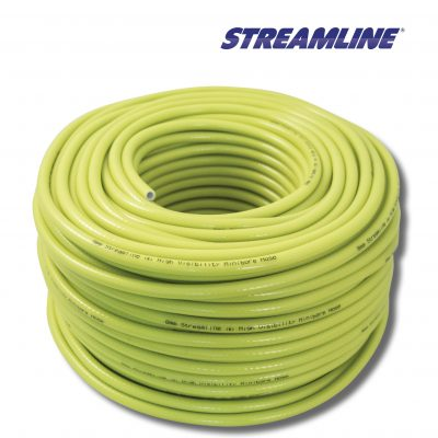 Steamline 8mm Minibore Hot & Cold Water Hi Viz Hose 100 Metres