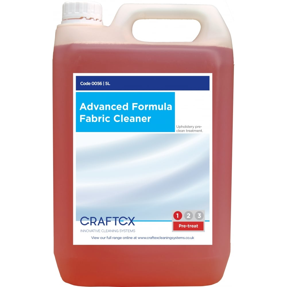 Craftex CR56 Advanced Formula Upholstery Cleaner 5 Litres