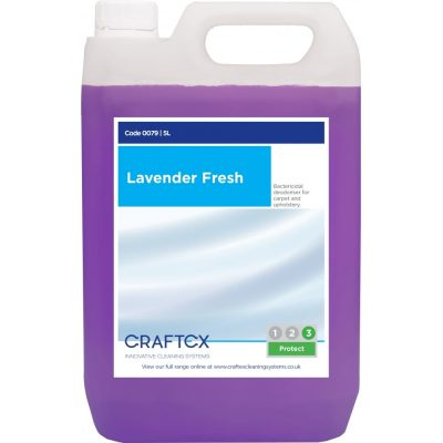 Craftex CR79 Lavender Fresh Carpet Deodoriser 5 Litres