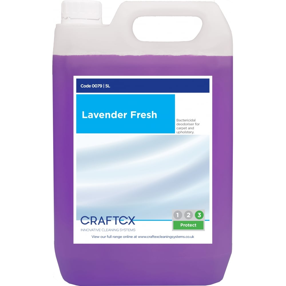 Craftex CR79 Lavender Fresh Carpet Deodoriser 5 Litres