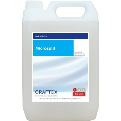 Craftex CR80 Microsplit carpet and upholstery spot cleaner and prespray
