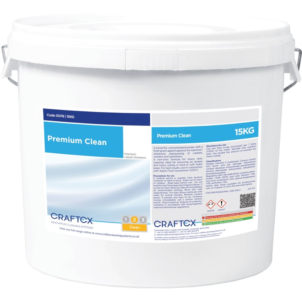 Craftex CR78 Premium Clean Powder 15KG