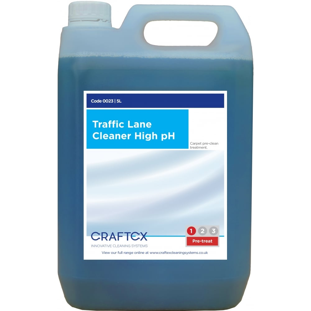 Craftex CR23 Traffic Lane Cleaner – High pH 5 Litres