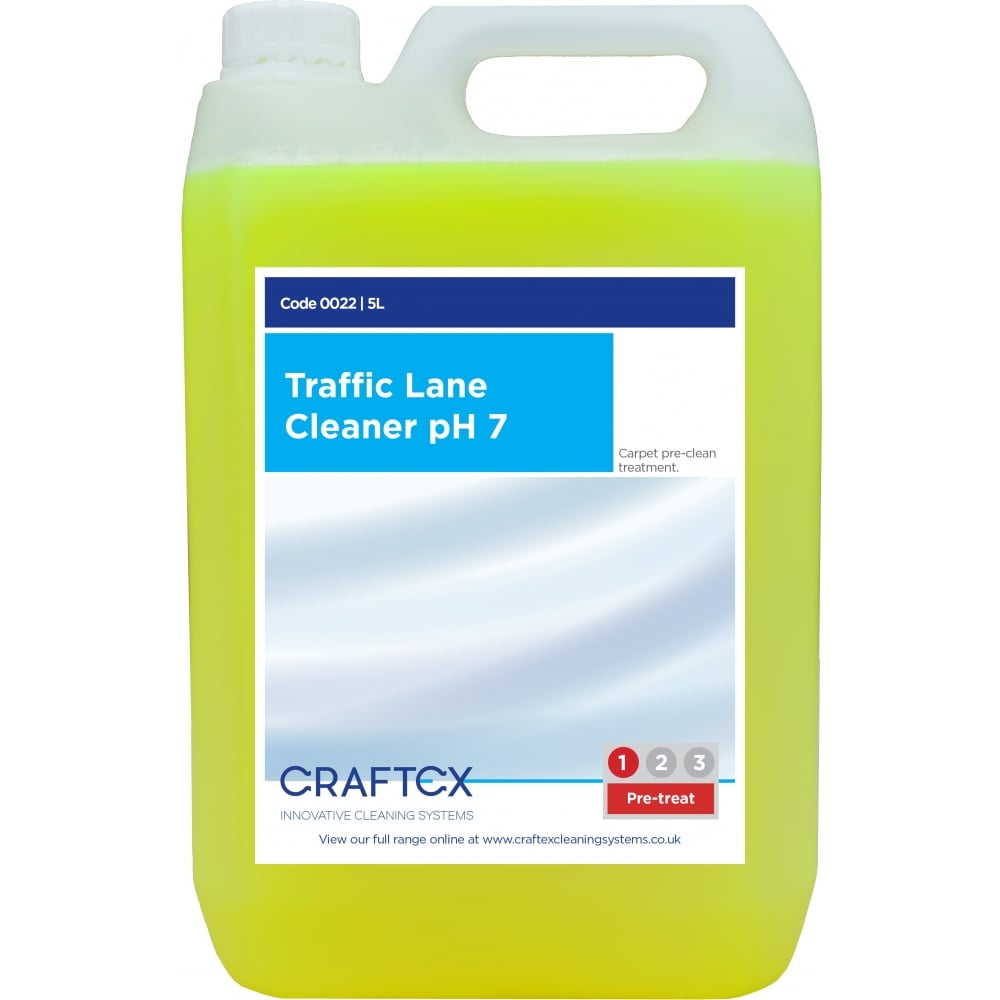 Craftex CR22 Traffic Lane Cleaner – pH7 5 Litres