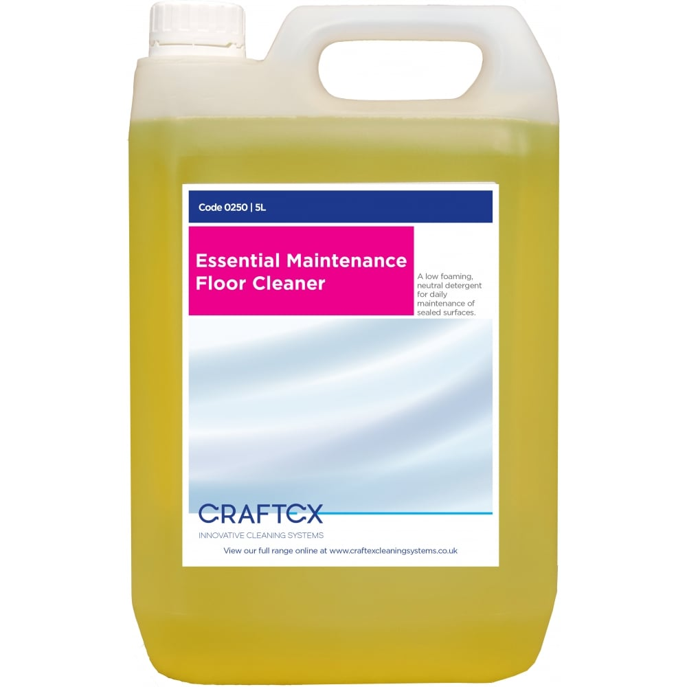 Craftex CR0250 Essential Maintenance Floor Cleaner 5 Litres