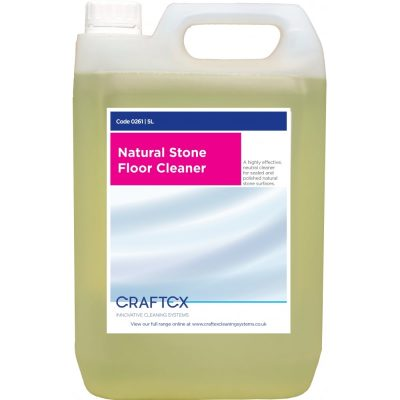 Craftex CR0261 Natural Stone Floor Cleaner 5 Litres