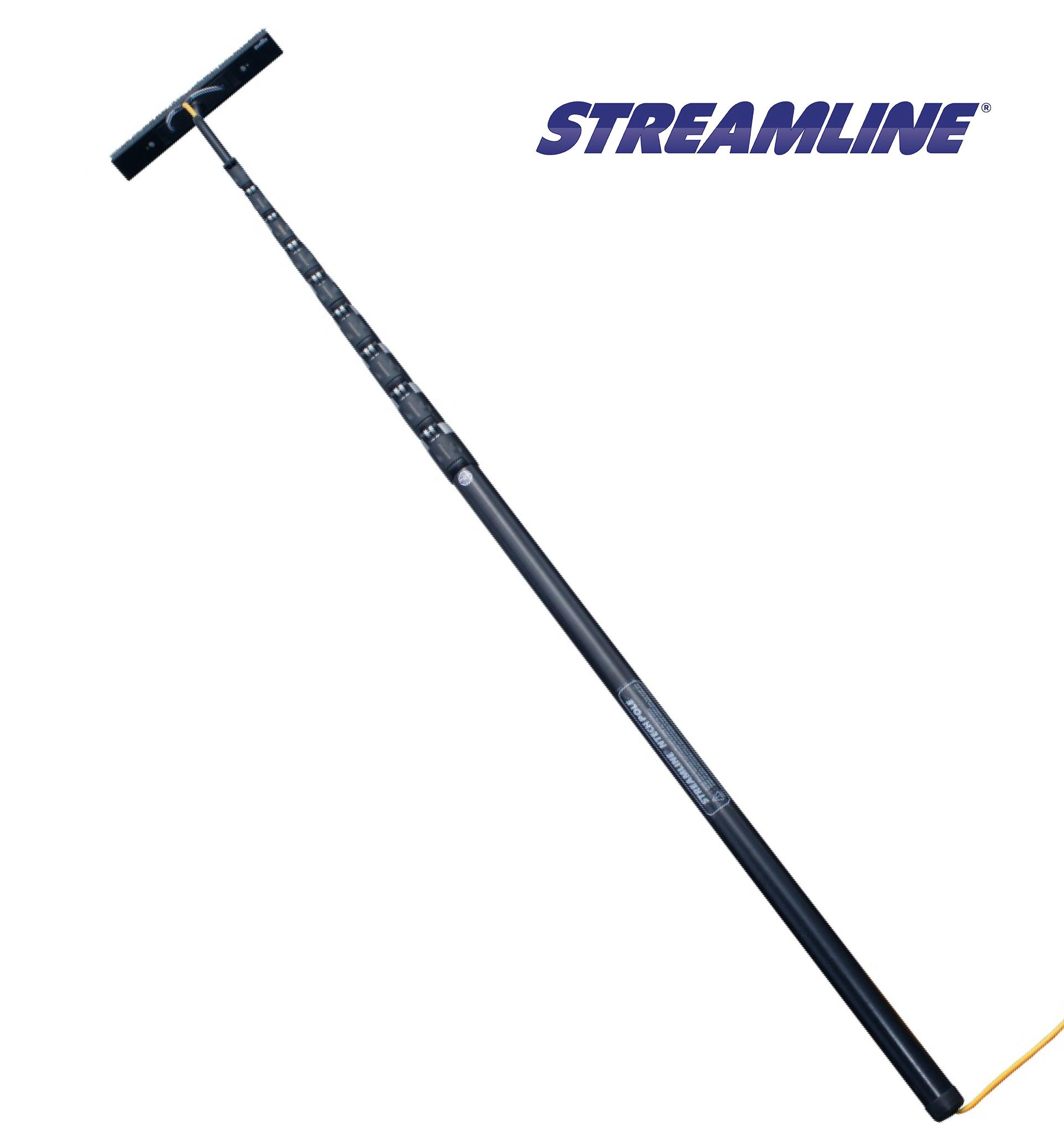 Streamline CXTEL 14 Metres (45′) 100% Carbon Fibre Telescopic Pole