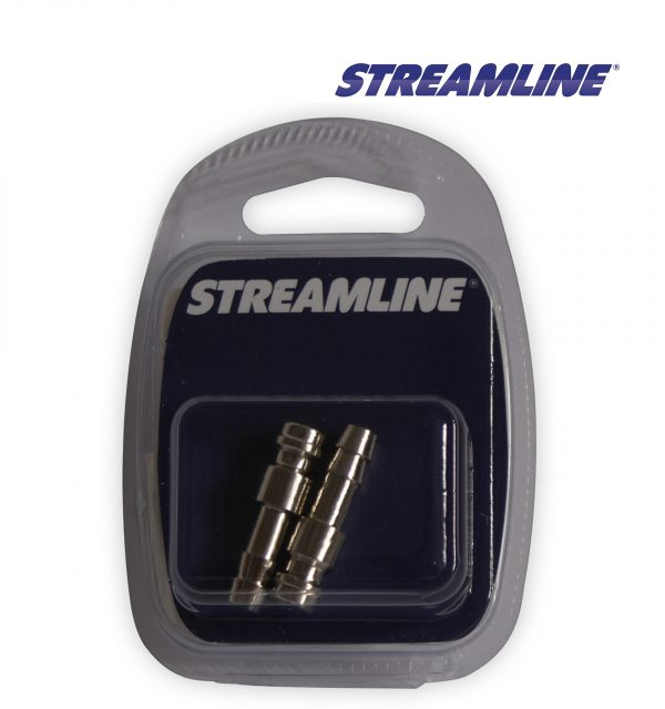 Streamline Q21MSS 6 mm Stainless Steel Male Quick Release Hose Tail Coupling