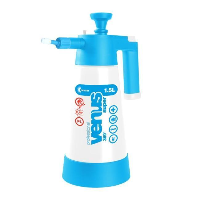Kwazar Venus Super Pro + 360 1.5 Litre Pump Up Sprayer