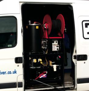 Dirt Driver Van Mounted Diesel Powered Hot Water Pressure Washers