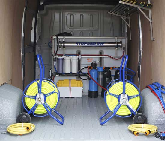 Streamline 650L Van Installation