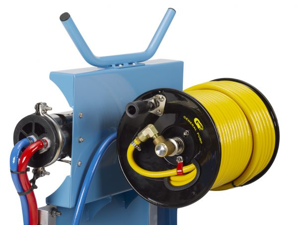 purefast 120-4 on-board hose reel and reverse osmosis filter
