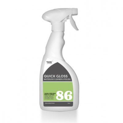 Cleantec PRO86 Quick Gloss Waterless Cleaner & Polish