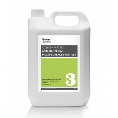 Cleantec Pro 3 Anti-bacterial Multi-Surface Sanitiser